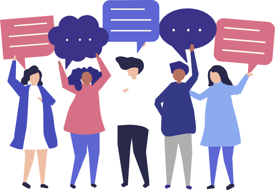 "<a href=""https://www.freepik.com/free-vector/character-illustration-of-people-holding-speech-bubbles_3585191.htm"">Designed by Rawpixel.com</a>"